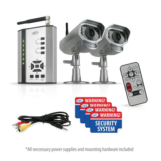SVAT Electronics 2 Digital Wireless Cameras with Receiver