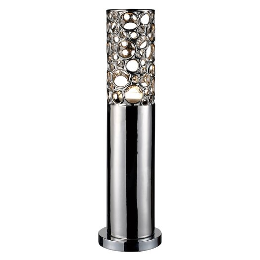 """Dimond Lighting Trendsitions Roeder 23"""" H Table Lamp with Drum Shade"""