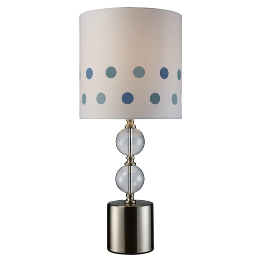 "Dimond Lighting Fairfield 25"" H Table Lamp with Drum Shade"