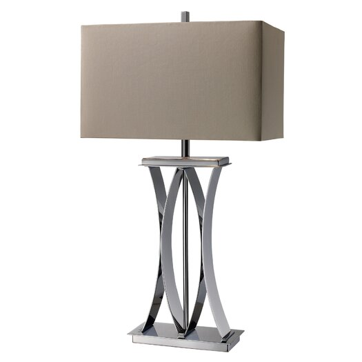 "Dimond Lighting Joline 29.33"" H Table Lamp with Rectangular Shade"