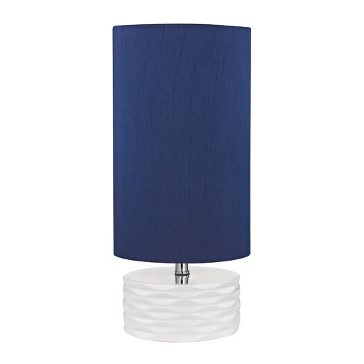 """Dimond Lighting Accent 17.5"""" H Table Lamp with Drum Shade"""