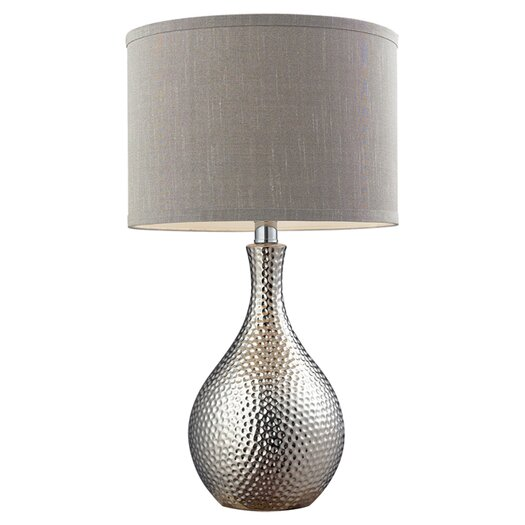 "Dimond Lighting HGTV Home 21.5"" H Table Lamp with Drum Shade"