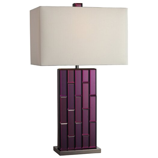 "Dimond Lighting Avalon 27"" H Table Lamp with Rectangular Shade"