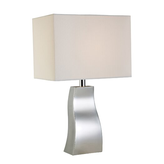 "Dimond Lighting Trendsitions Keyser 18"" H Table Lamp with Rectangular Shade"