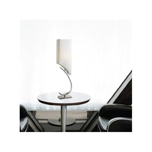 """Dimond Lighting Appleton 36"""" H Table Lamp with Square Shade"""