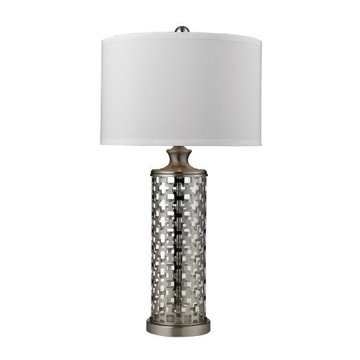 "Dimond Lighting Medford 32"" H Table Lamp with Drum Shade"