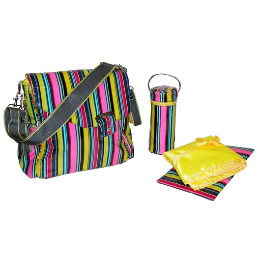 Kalencom Ozz Coated Diaper Bag Set