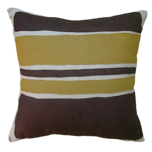 Balanced Design Block Applique Pillow