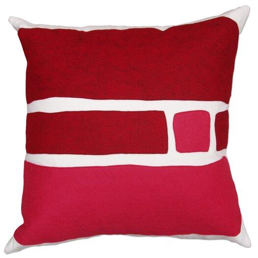 Balanced Design Big Block Applique Pillow