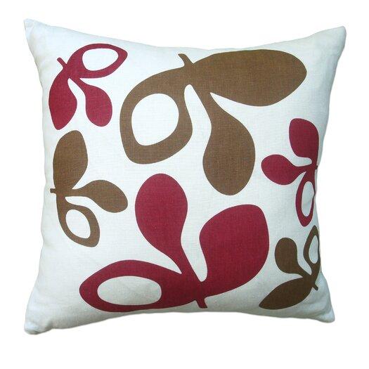 Balanced Design Hand Printed Pods Pillow