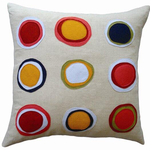 Balanced Design Mona Applique Pillow