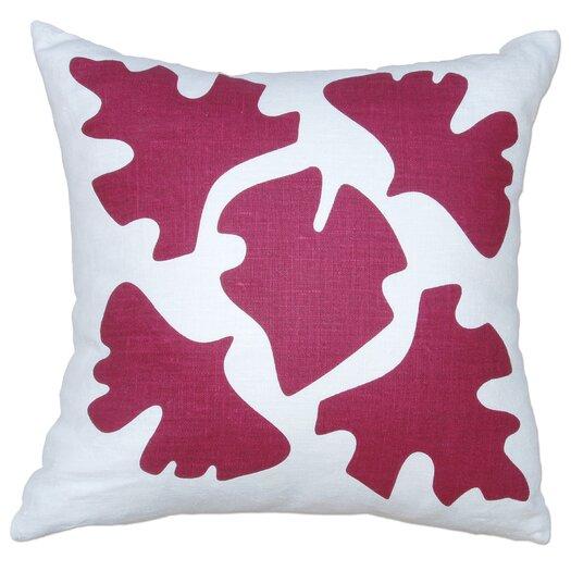 Balanced Design Hand Printed Shade Pillow