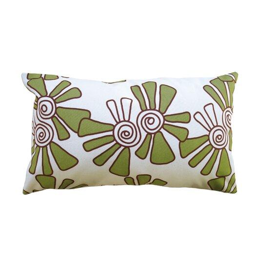 Balanced Design Hand Printed Canvas Pillow Alex