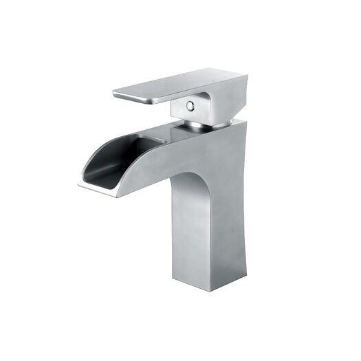 Yosemite Home Decor Single Handle Deck Mount Bathroom Faucet
