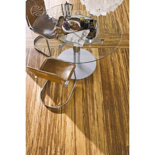 """Teragren Synergy Floating Floor 7-11/16"""" Bamboo Flooring in Brindle"""