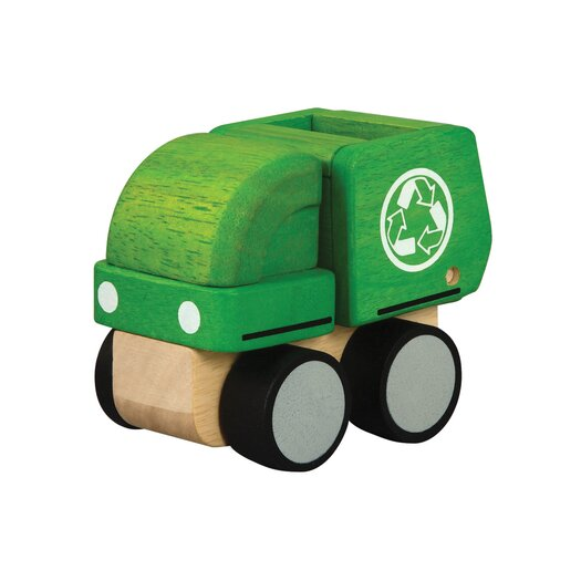 Plan Toys City Mini Garbage Truck