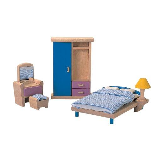 Plan Toys Dollhouse Bedroom - Neo