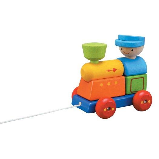 Plan Toys Preschool Sorting Train