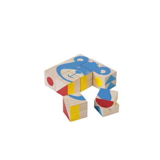 Plan Toys Pattern Block 9 Piece Set