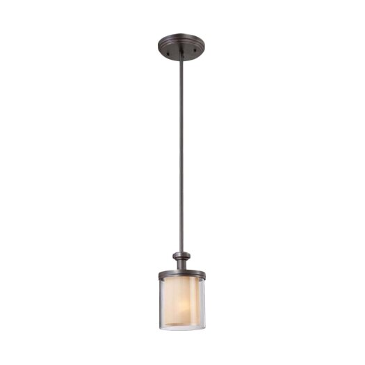 Nuvo Lighting Decker 1 Light Mini Pendant