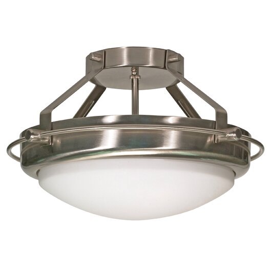 Nuvo Lighting Polaris Semi Flush Mount
