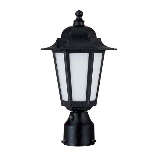 Nuvo Lighting Cornerstone 1 Light Post Lantern