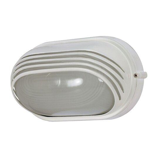 Nuvo Lighting Oval Hood 1 Light Wall Sconce