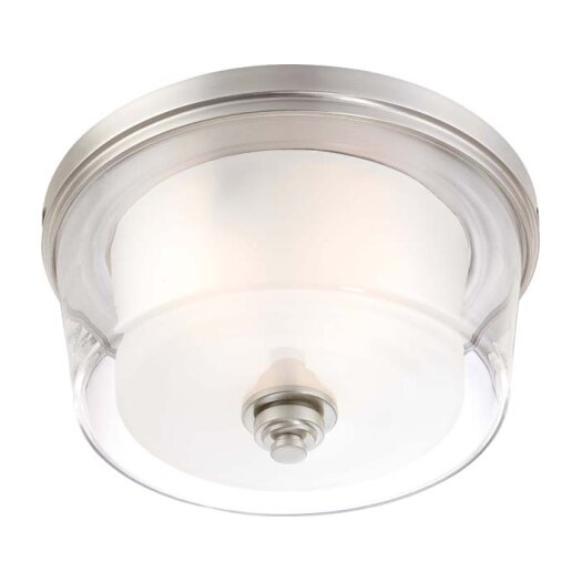 Nuvo Lighting Decker 3 Light Flush Mount