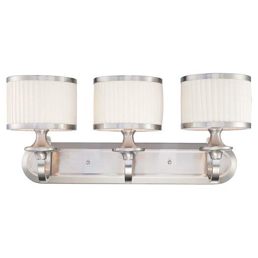 Nuvo Lighting Candice 3 Light Bath Vanity Light