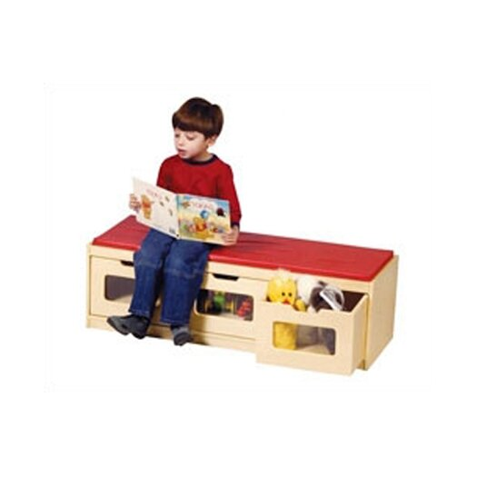Guidecraft EZ-View Kid's Bench