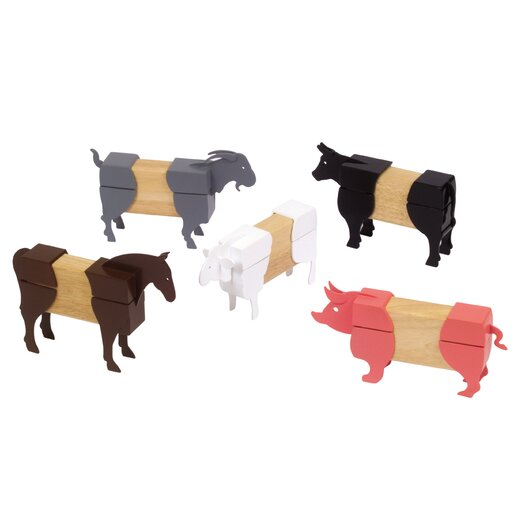 Guidecraft Farm Animal Block Mates