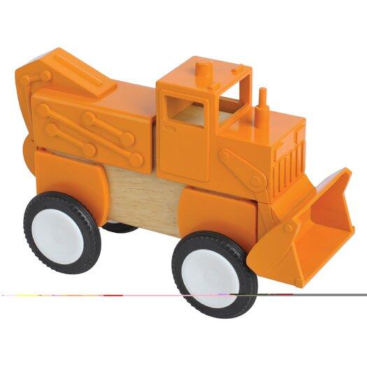 Guidecraft Block Mates Construction Vehicle Set