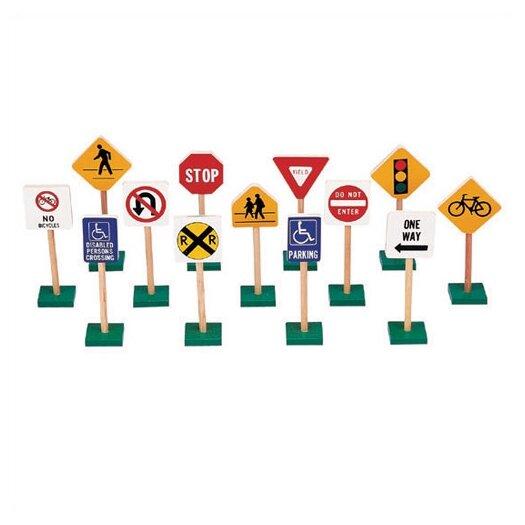 Guidecraft Traffic Signs