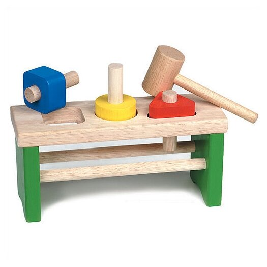Guidecraft Shape Sorting Pounder