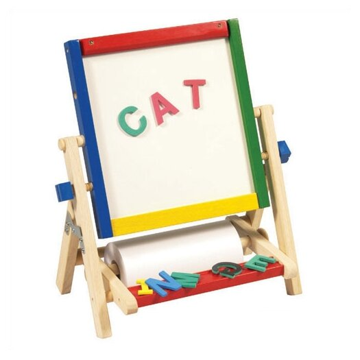 Guidecraft 4-In-1 Flipping Table Easel