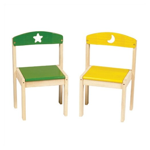 Guidecraft Moon and Stars Extra Kid's Chair