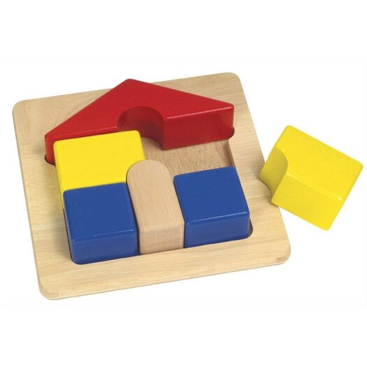 Guidecraft House Chunky Puzzle