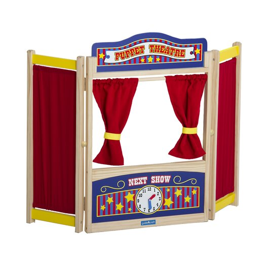 Guidecraft Dramatic Play Tabletop Theater