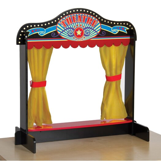 Guidecraft Dramatic Play Act One Tabletop Theater