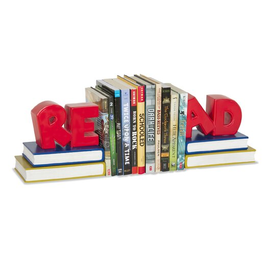 "Guidecraft Classroom Furniture ""Read"" Book Ends"