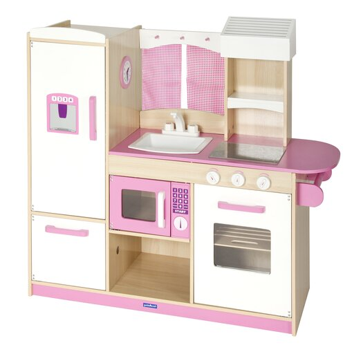 Guidecraft Dramatic Play 7 Piece Kitchen Set