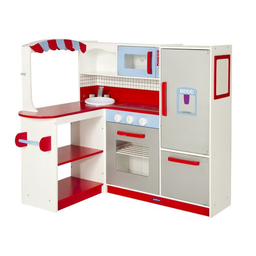 Guidecraft Dramatic Play Cook's Nook Kitchen