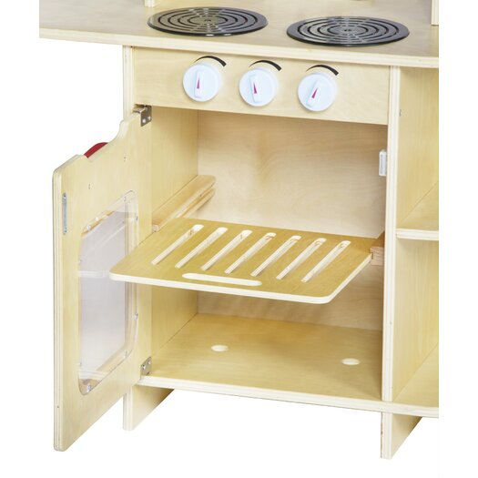 Guidecraft Dramatic Play Café Kitchen