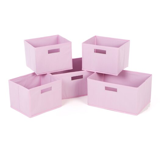 Guidecraft Classic Pink Basket
