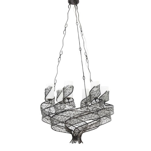 Varaluz Flow 6 Light Chandelier