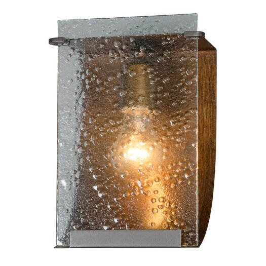 Varaluz Rain 1 Light Recycled Bath Light