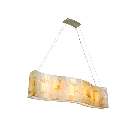 Varaluz Big Linear 6 Light Pendant