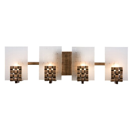 Varaluz Dreamweaver Recycled 4 Light Bath Vanity Light