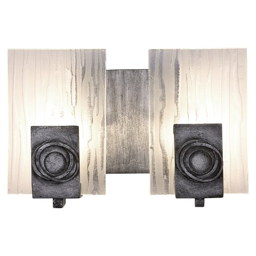 Varaluz Polar Recycled 2 Light Bath Vanity Light