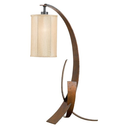 "Varaluz Aizen 30"" H Table Lamp with Drum Shade"